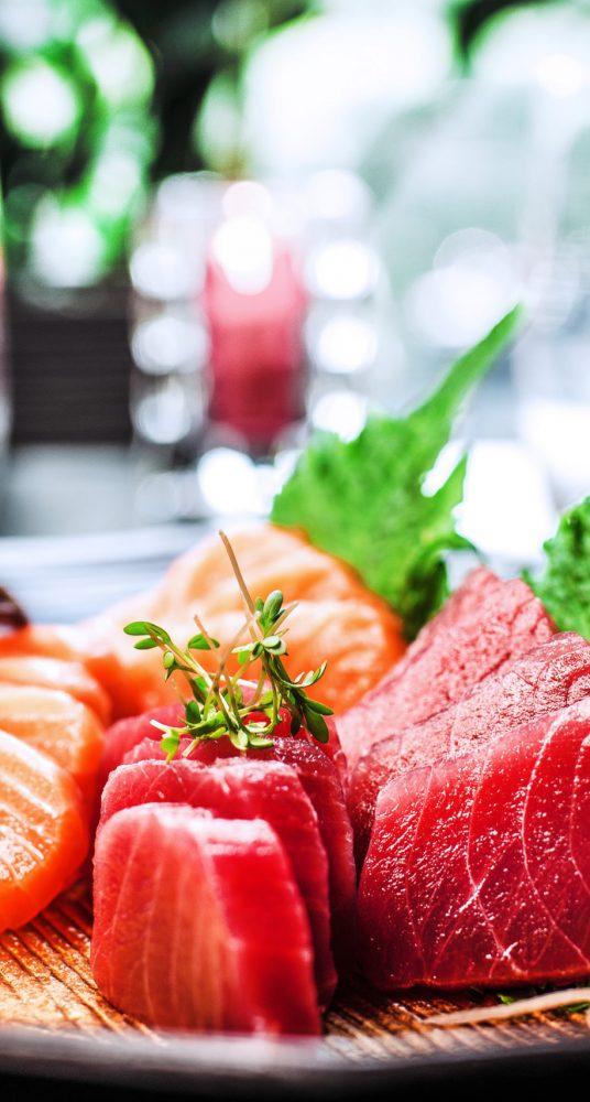 Sushi product shot